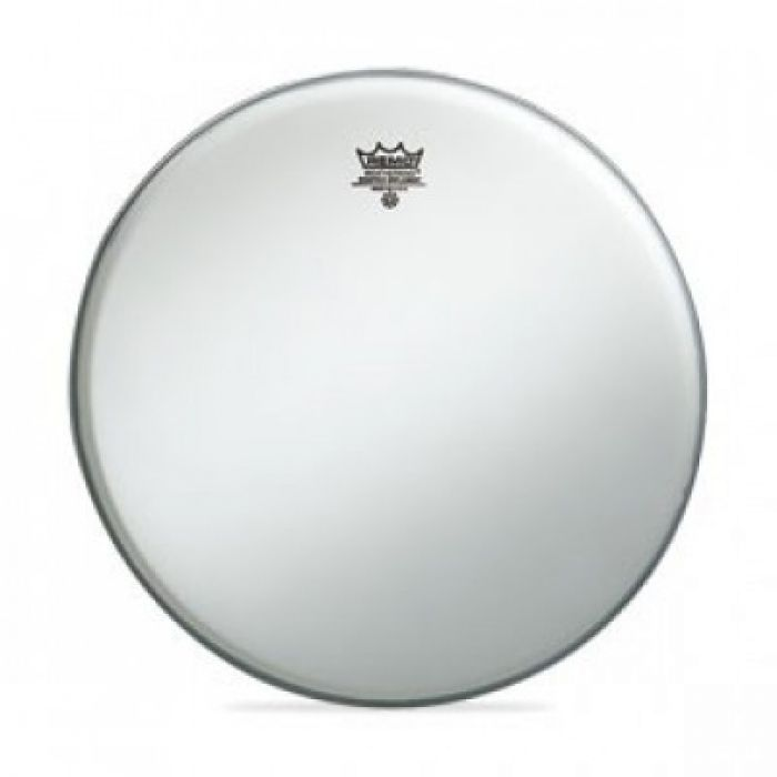 "12"" Remo ambassador coated SMOOTH WHITE"