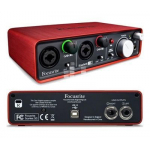 Focusrite Scarlett 2i2 2nd gen USB-интерфейс
