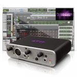 Avid Fast Track Solo with Pro Tools Express Интерфейс