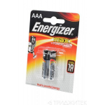 Элемент питания Energizer MAX + Power Seal LR03 BL2 AAA